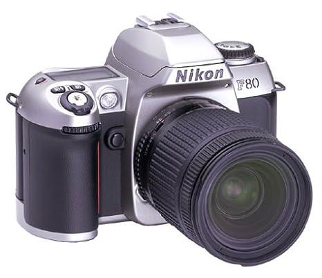 Cámara Réflex Nikon F80 Plata con 28 - 105 mm Lente de Zoom ...