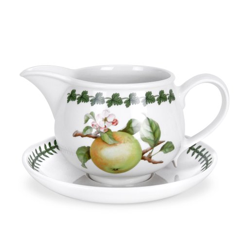 Portmeirion Apple Harvest Gravy Boatstand