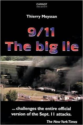9 11 The Big Lie Thierry Meyssan 9782912362735 Amazon