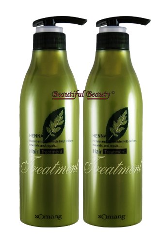 - HENNA HAIR TREATMENT 500ml x 2 (1000ml)