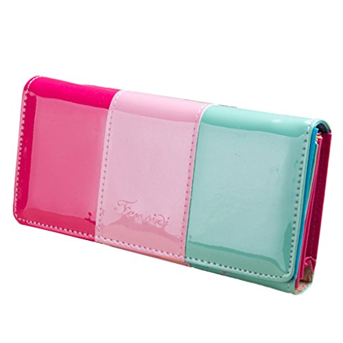 Wallet Small Fresh Wallet Mobile Phone Bag Pink - 5