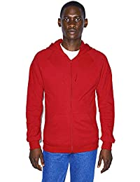 American Apparel Men's California Fleece Long Sleeve Zip Hoodie