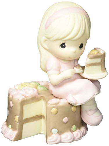 Precious Moments 152000  Have Your Cake & Eat It Too, Bisque Porcelain Figurine from Precious Moments