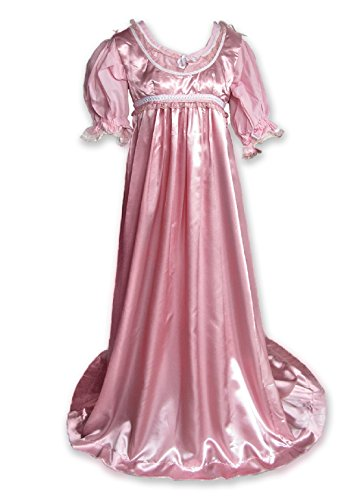 Regency Jane Austen Style Ball Gown Costume (2/2) Light Pink