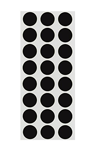 ChromaLabel 1/2 inch Removable Color-Code Dot Labels on Sheets | 1,200/Pack -