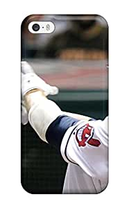 Durable Defender Case For Iphone 5/5s Tpu Cover(cleveland Indians )