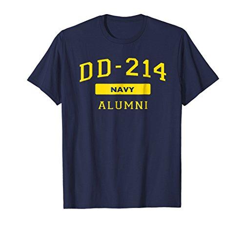US Navy DD-214 Shirt Veteran DD214 Alumni T-Shirt (Alumni Tee)