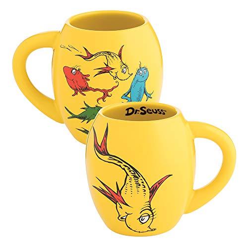 Dr. Seuss One Fish Two Fish 18 oz. Oval Ceramic Mug - Ceramic One
