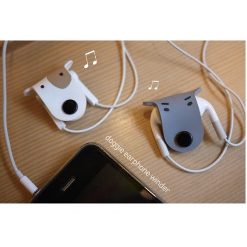 Headphone Earphone Organiser Manager Winder%C2%A3%C2%A8Grey%C2%A3%C2%A9