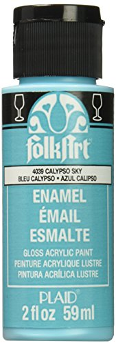 FolkArt Enamel Ceramic Assorted Calypso product image
