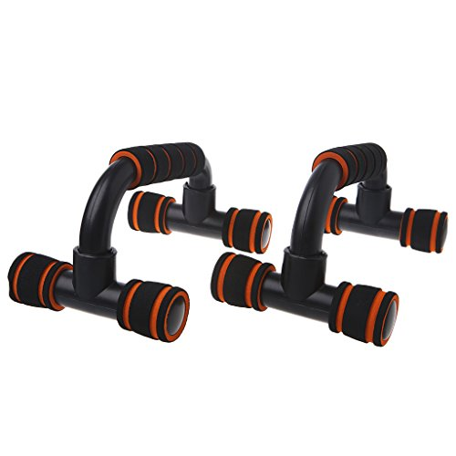 Susada Push-Up Stands 1 Pair Fitness Sports Gym Exercise Training Chest Sponge Hand Grip by Susada