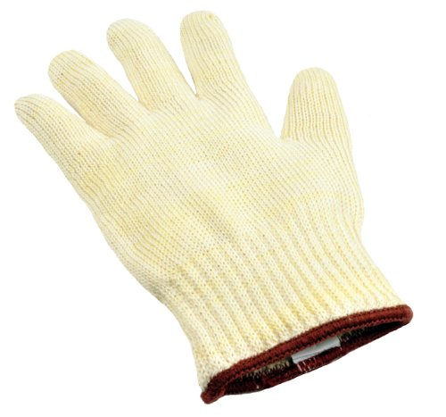 G & F 1689M Dupont Nomex & Kevlar Heat Resistant Oven Gloves, BBQ Gloves, Fireplace Gloves, Gloves for Cooking and Grill, Commercial Grade, Medium, Sold by 1 Piece