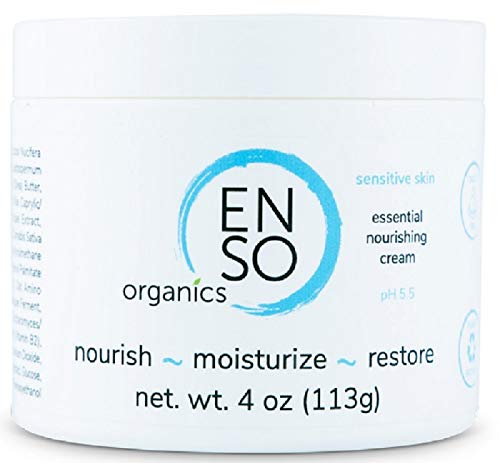 Face Moisturizer for Sensitive Skin With Aloe Vera Coconut Oil Cocoa Butter & Manuka Honey - Anti Wrinkle & Skin Lightening Cream for Dry & Damaged Skin - Skin Rejuvenating Dark Spot Corrector (2 oz)