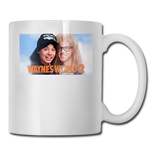 ZTZTR Wayne's World 2 Mug Ceramics Interesting Home Gift