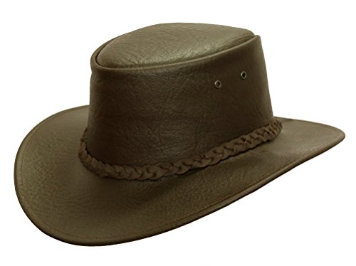 KakaduTraders Australia Kakadu Leather Hat For Kids, children Leather Hat - Kakadu Leather Hat