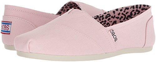 Skechers BOBS Women's Plush-Peace and Love Ballet Flat, Pnk, 7 M US by Skechers (Image #5)