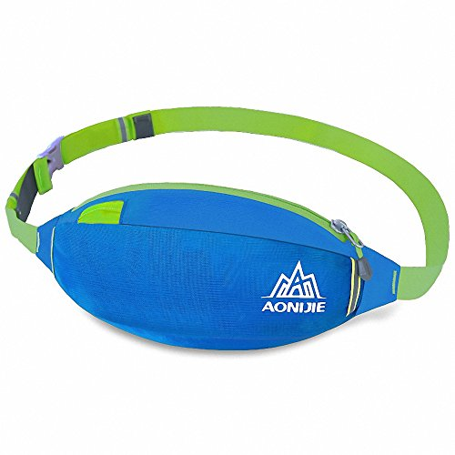 Maoko Running Fanny Pack Bum Bag  Outdoor Waterproof Waist Bag Pack For Camping  Hiking  Running Travelling
