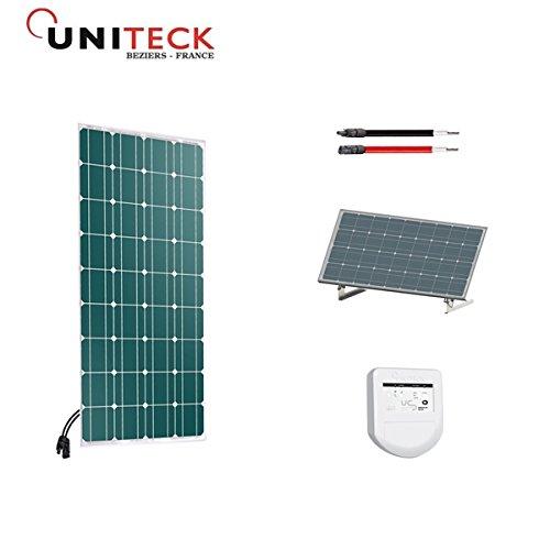 Kit solar 100W Spezial-Schuppen Halterung Basic