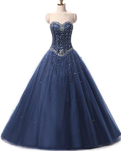 blue poofy dress - 9