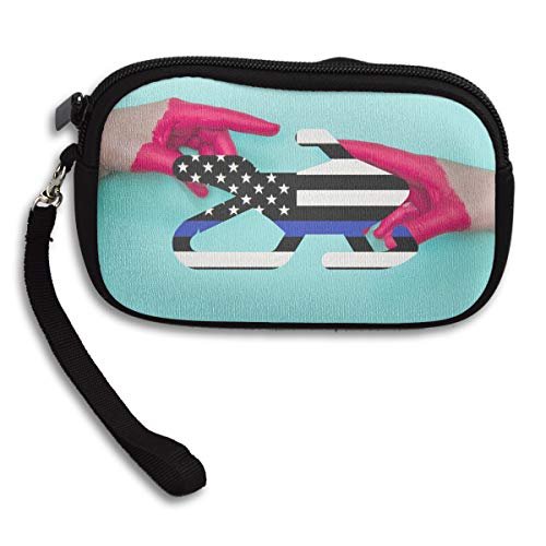 Portable Line Deluxe Flag Receiving Thin American Small Bag Blue Printing Snowmobile Purse AanRzW4Rx