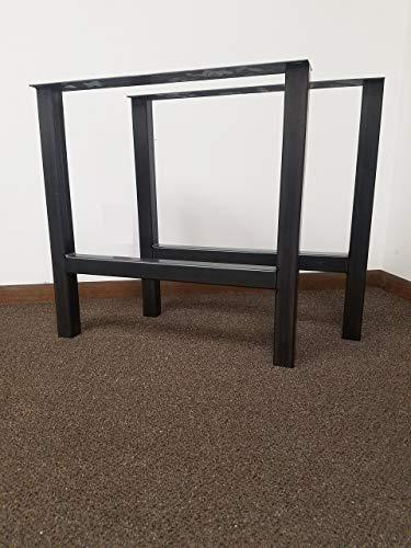 Economy Style - Heavy Duty H-Frame Metal Table Legs