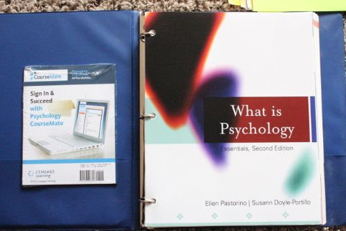 What Is Psychology?: Essentials, Second Edition