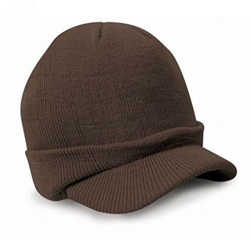 AIMTOPPY Mens Ladies Warm Wooly Winter Beanie Hat Cadet Ski Cap