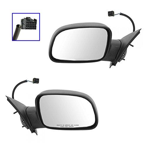 Folding Power Side Mirrors GTN Type LH & RH Pair Set for 99-04 Grand Cherokee