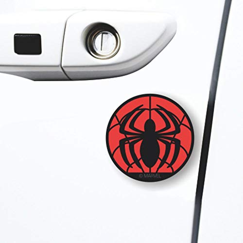 YKM Spider Man Car Side Door Guard Edge Defender Protector Trim Guard Sticker Fit for Most Car 4PCS