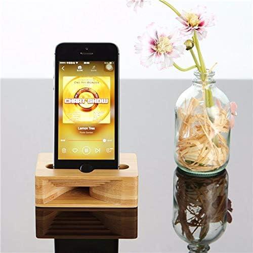 Rui Peng 携帯電話スタンド - ユニバーサル多機能木製携帯電話ホルダーアンプモバイルブラケットレイジースタンド用5.5インチスマートフォン用iphone