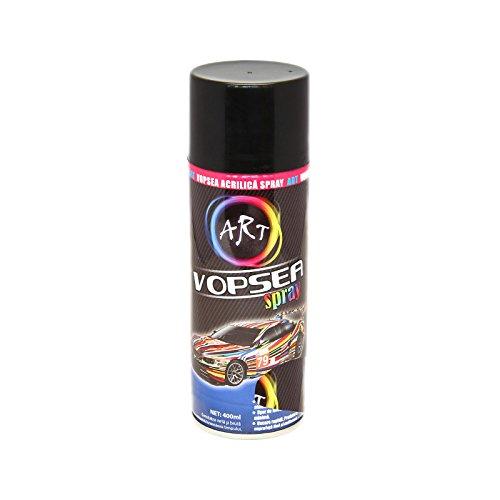 Handycop® Buntlack Schwarz matt - 400ml - Effekt Lack Markier Sprüh Farbe universal