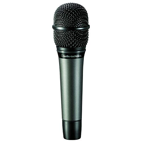 - Audio-Technica ATM610a Hypercardioid Dynamic Handheld Microphone (Renewed)