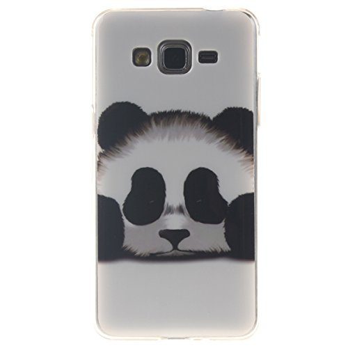 Galaxy Grand Prime Case,Gift_Source [Drop Protection] Fashion Silicone Protective Case Premium Flexible Soft TPU Slim Case Cover for Samsung Galaxy Grand Prime G530 /G530H /G5308W [Panda]