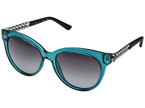 475375743c1 GUESS Factory Women s Round Chain-Trim Logo Sunglasses - Buy Online in  Oman.