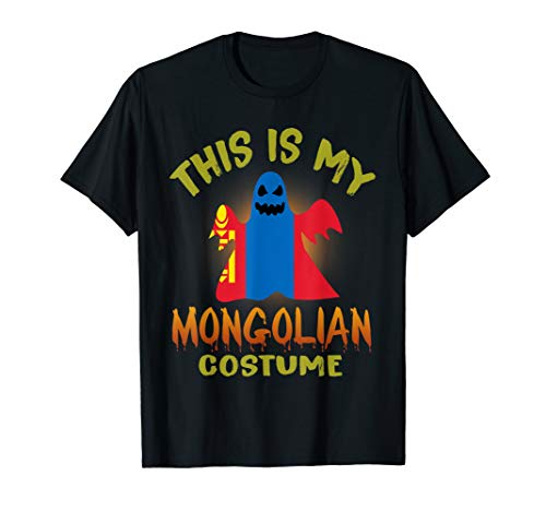This Is My Mongolian Costume Boo Ghost