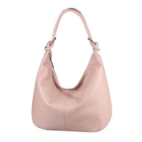 Silber Beautiful porter Sac OBC Cm à 47x35x16 femme Couture pour Altrosa Leder Only l'épaule à Argenté xl TwTq50P