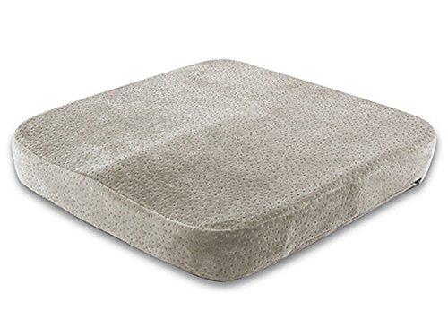 Oxfox comfortable memory foam seat cushion grey for tailbone