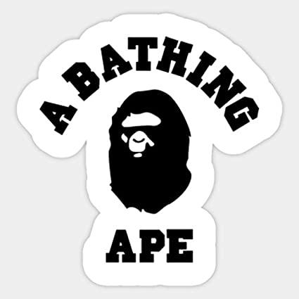 7f71084c1ba Amazon.com  A Bathing Ape Bape Vinyl Sticker Decal  Computers   Accessories