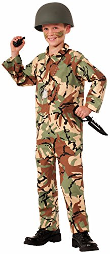 Marine Halloween Costumes Girl (Forum Novelties Army Jumpsuit Costume, Medium)