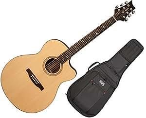 prs se alex lifeson thinline acoustic electric guitar w gig bag musical instruments. Black Bedroom Furniture Sets. Home Design Ideas