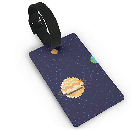 Sheery Planet Luggage Tags Business Card Holder Travel ID Bag Tag