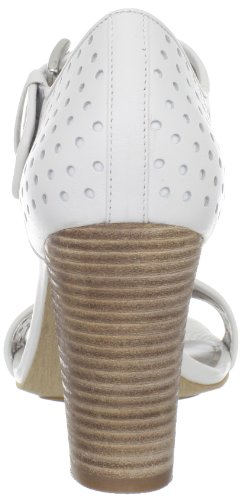 ECCO Womens Omak Perforated Sandal White Hgm3ReZ