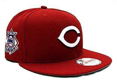 Cincinnati Reds New Era Baycik Snapback Cap Hat Red