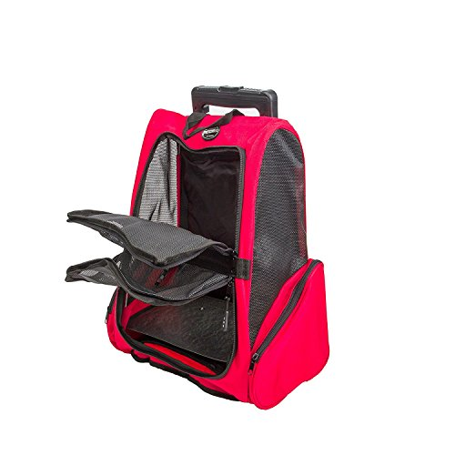 Meiying Pet Backpack for Dogs and Travel Airline Approved
