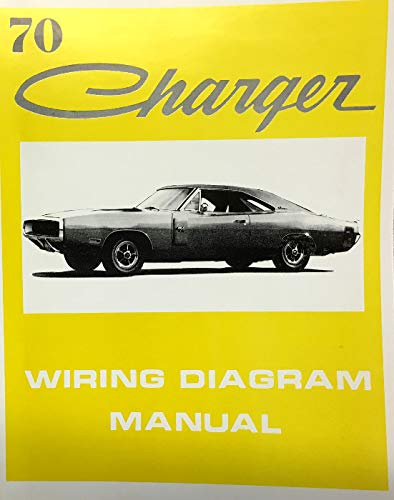 1970 Dodge Charger Factory Electrical Wiring Diagrams Schematics Dodge Chrysler Amazon Com Books