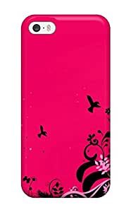 Iphone 5/5s Cover Case - Eco-friendly Packaging(pink Abstract)