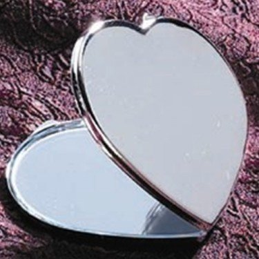 Godinger HEART SHAPED COMPACT (Mirror Godinger)