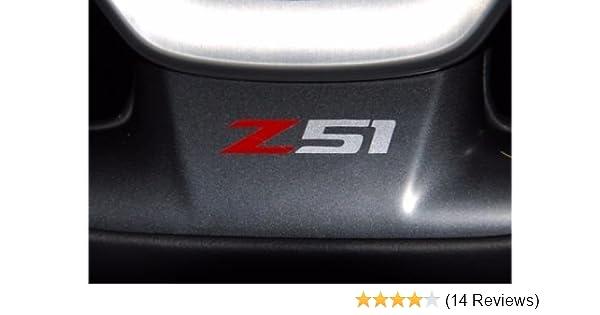 Corvette C7 Stingray Z51 Vinyl Decal for Side Vent