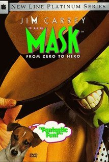 The Mask Stanley Ipkiss Jim Carrey Green Smokin Rubber Mask