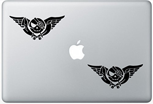 Skies Of Arcadia ArcDecals78602649 Set Of Two (2x) , Decal , Sticker , Laptop , Ipad , Car , Truck